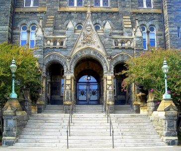 Healy Hall Entrance